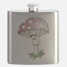 Gothic Mushroom Flask