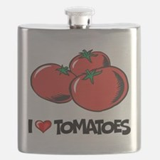 I Love Tomatoes Flask