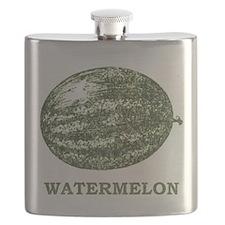 Vintage Watermelon Flask