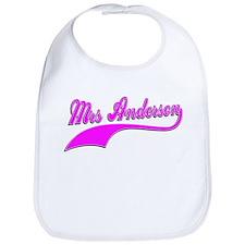 Mrs Anderson Bib