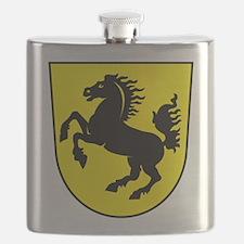 Stuttgart Coat Of Arms Flask