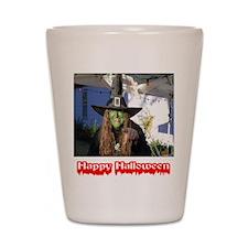 Halloween Witch Shot Glass