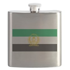 Afghanistan 1992 Flag Flask