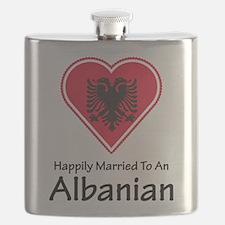Happily Married Albanian Flask