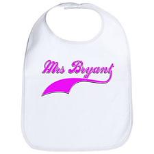 Mrs Bryant Bib