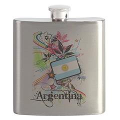 Flower Argentina Flask