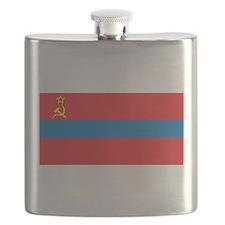 Armenia SSR Flag Flask