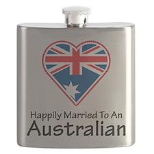 Happily Married Australian Flask