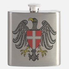 Vienna Coat Of Arms Flask