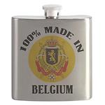 100% Made In Belgium Flask