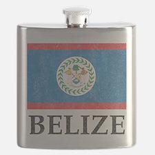Vintage Belize Flask