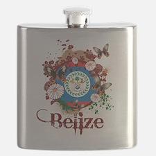 Butterfly Belize Flask