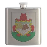 Bermuda Coat Of Arms Flask