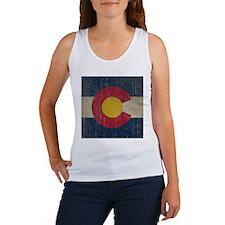 Vintage Colorado Flag Women's Tank Top