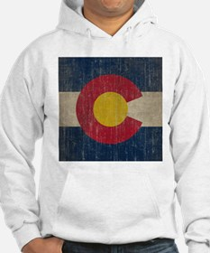 Vintage Colorado Flag Jumper Hoody