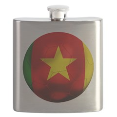 Cameroon Football Flask