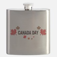 Canada Day Flask