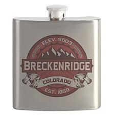 Breckenridge Red Flask