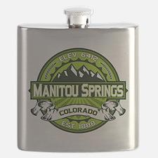 Manitou Shirt Logo Green.png Flask