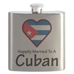 Happily Married To A Cuban Flask