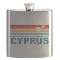 Palm Tree Cyprus Flask