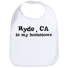 Ryde - hometown Bib