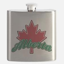 Alberta Maple Leaf.png Flask