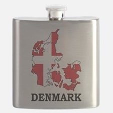 Denmark Map Flask