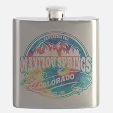 Manitou Springs Old Circle Black.png Flask