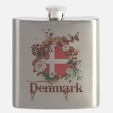 Butterfly Denmark Flask