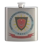 East Timor Coat Of Arms Flask