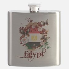 Butterfly Egypt Flask