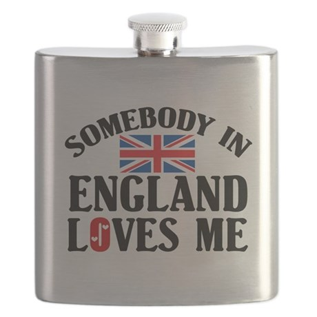 Somebody In England Flask