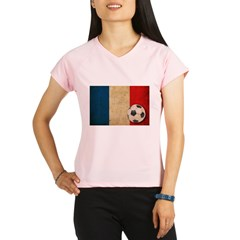 Vintage France Football Performance Dry T-Shirt