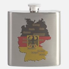 Germany Map Flask