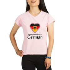 Happily Married German Performance Dry T-Shirt