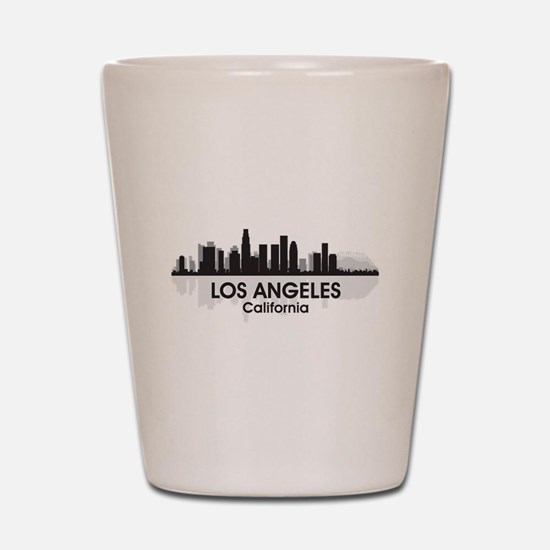 Los Angeles Skyline Shot Glass