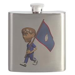 3D Guam Flask
