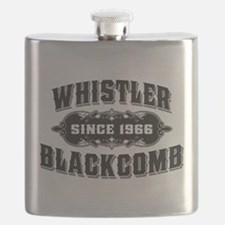 Cute Whistler Flask