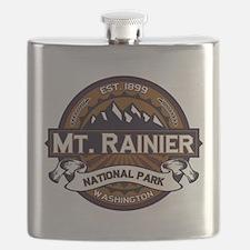 Mt. Rainier Vibrant Flask