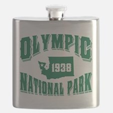 Olympic Old Style Green.png Flask