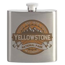 Yellowstone Pumpkin Flask