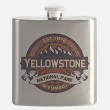 Yellowstone Vibrant Flask