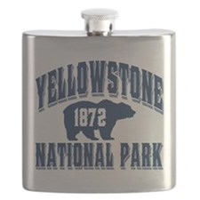 Yellowstone Old Style Blue.png Flask