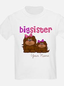 Big Sister Puppies T-Shirt