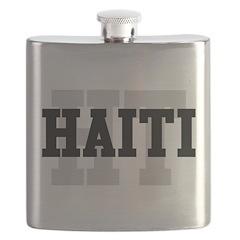 HT Haiti Flask