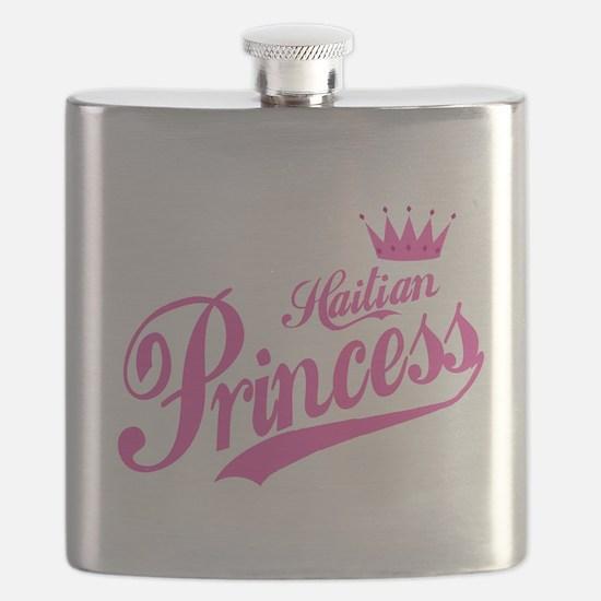 Haitian Princess Flask
