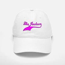 Mrs Jackson Baseball Baseball Cap