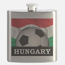 Hungary Football Flask