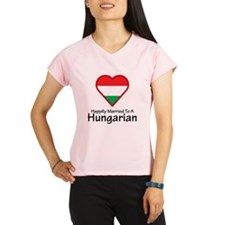 Happily Married Hungarian Performance Dry T-Shirt